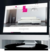 Exemple création de site internet pour création d'agence immobilière
