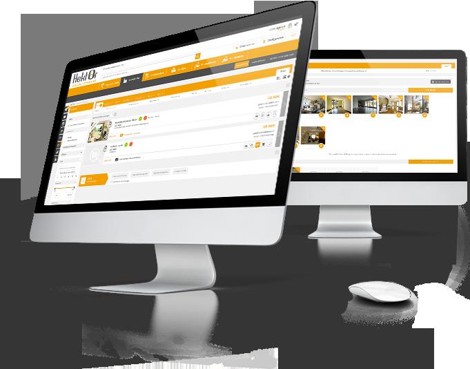 Interface logiciel immobilier Hektor pour immobilier professionnel