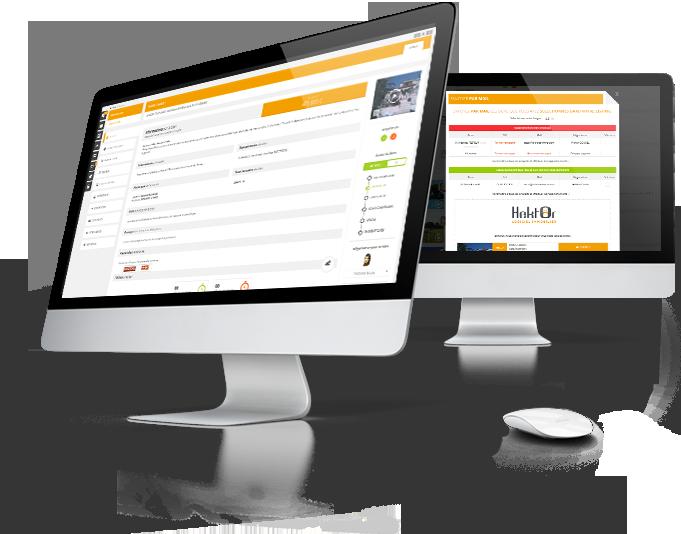 Interface de rapprochement automatique acquéreur/mandant du logiciel immobilier Hektor